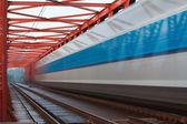 Speed train — Stock Photo