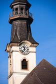 Toren klok — Stockfoto