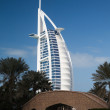 Burj Al Arab hotel — Stock Photo #9177048