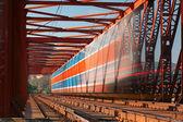 De snelheid-trein — Stockfoto