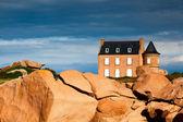Historisches ferienhaus — Stockfoto