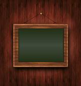 Blackboard wooden menu Todays special green raster — Stock Photo
