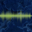 Navy sound waveform — Stock Photo #8348067