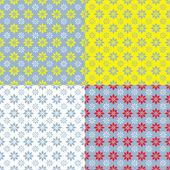 Flowers seamless texture — Stock Vector