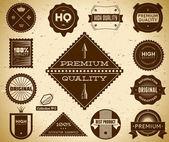 Premium Quality labels. Collection 5. — Cтоковый вектор