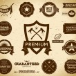 Royalty-Free Stock Vector Image: Vintage Premium Quality labels  Collection 6