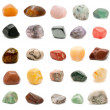 Semiprecious gemstones - Stock Photo