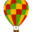Hot air balloon - Stock Vector