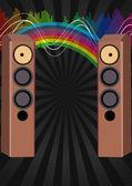 Lautsprecher — Stockvektor