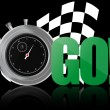 Go chronometer — Stock Vector #8004431