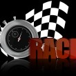 Race chronometer — Stock Vector #8004435
