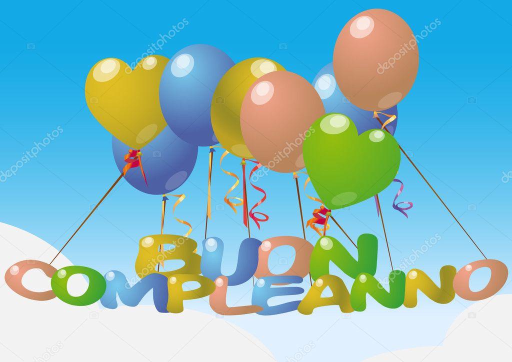 Поздравления на итальянском день рождения