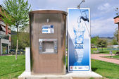 Drinking water public distributor — Stock Photo