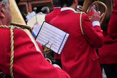 Brass band — Stock Photo