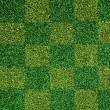 Artificial green grass texture — Stock Photo