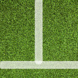 Line sport on artificial grass — Stock Photo