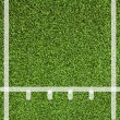 Line sport Artificial green grass texture — Stock Photo #10430747