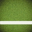 Artificial green and sport line - Stock Photo
