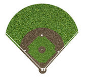 Baseball field — Foto de Stock