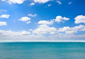 Blue over sea — Stock Photo
