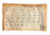Calendrier février 2012, — Photo