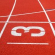 Running track No. 3 — Stock Photo