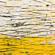 Grunge paint on wood — Stock Photo