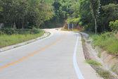 Concrete road — Stock Photo