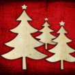 Paper christmas tree — Stock Photo #9789319