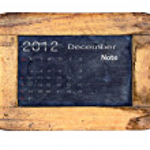 Calendar 2012, December — Stock Photo #9789902