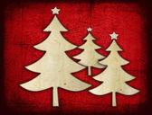 Paper christmas tree — Stock Photo