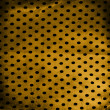 Grunge dots fabric — Stock Photo