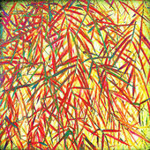Grunge bamboo leave background — Stock Photo