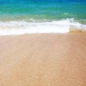 美丽的海滩波 — 图库照片