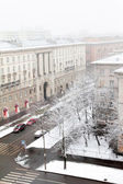 Saint Petersburg view in winter — Foto Stock