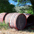 Royalty-Free Stock Photo: Old wine barrels
