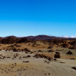 Large crater of the volcano Teide on a sunny day — Stock Photo