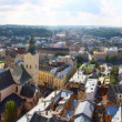 Stock Photo: Panoramin clear weather, historic center of Lviv