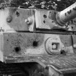 Stock Photo: PzKpfw VI Tiger destroyed tank