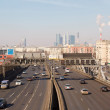 Stock Photo: Road traffic in center of Moscow