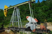 The working oil pump — Stock Photo