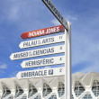 Stock Photo: CAC signpost