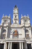 Valencia Town hall — Stock Photo