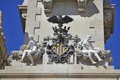 Coat of arms of Valencia — Stock Photo