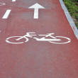 Bicycle way — Stock Photo #8009484