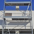 Scaffold in a workplace — Stok fotoğraf
