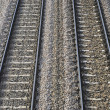 Foto Stock: Train railroads