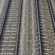 Train railroads — Stok fotoğraf