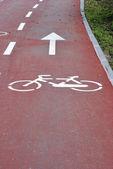 Bicycle way — Stock Photo
