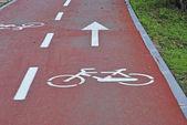 Bike way — Stock Photo